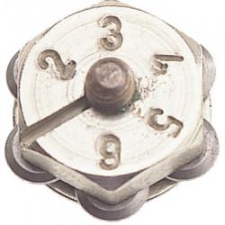 Barillet 6 molettes de marque NESPOLI, référence: J5746000