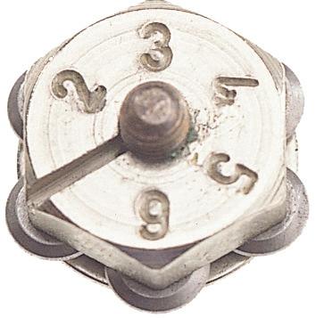 Barillet 6 molettes