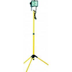 Projecteur portable extérieur R7S, 118 mm 400 W, noir de marque SMARTWARES, référence: J6063500