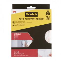 2 rubans agrippant adhésifs blanc intérieur SCOTCH L.450 x l.19 mm de marque SCOTCH, référence: B5918800