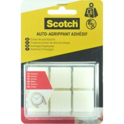24 Pastilles agrippantes adhésives transparent intérieur SCOTCH L.2.2 x l.22 mm de marque SCOTCH, référence: B5919200