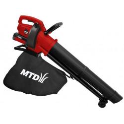 Aspirateur souffleur à batterie BLBV 40V - 223 m3/min de marque MTD, référence: J4986500