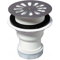 Bonde receveur de douche, Diam.60 mm sortie verticale WIRQUIN de marque WIRQUIN, référence: B6264700