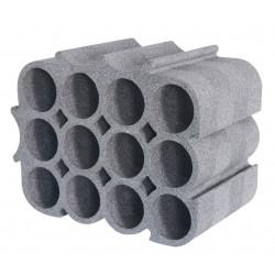 Casier 12 emplacements polystyrène de marque BOX & BEYOND, référence: B6266600