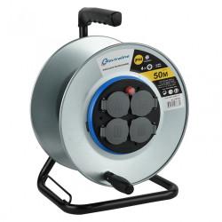 Enrouleur de câble électrique chantier avec terre vide, ELECTRALINE de marque ELECTRALINE, référence: B6274700