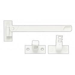 Entrebâilleur pour fenêtres plastique / pvc blanc, SOCONA de marque SOCONA, référence: B6275600