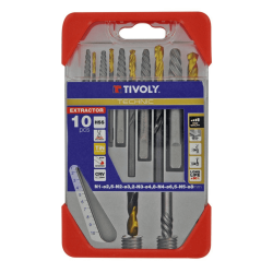 Extracteurs de goujons cassés métal TIVOLY de marque TIVOLY, référence: B6276300