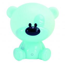 Lampe veilleuse, enfant, pvc bleu tactile, SEYNAVE Nestor de marque SEYNAVE, référence: B6283700
