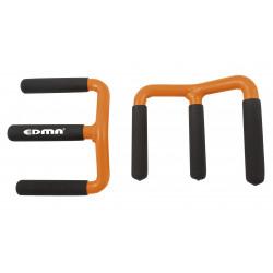 Lot de 2 poignées de transport pour porte-plaque EDMA de marque EDMA, référence: B6289300