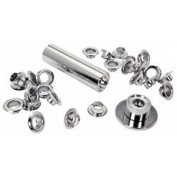 Lot de 25 oeillets acier Diam.8 RAPID de marque RAPID, référence: B6295000