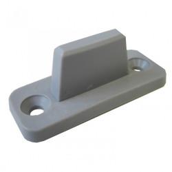 Lot de 3 patins de guidage plastique pour portes coulissantes HETTICH de marque HETTICH, référence: B6299600