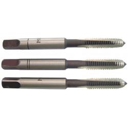 Lot de 3 tarauds métal, Diam.8 mm TIVOLY de marque TIVOLY, référence: B6300800