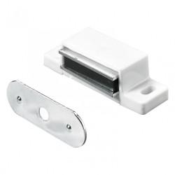Lot de 4 loqueteaux magnétiques plastique HETTICH, L.14.5 x l.45.3 mm de marque HETTICH, référence: B6305800