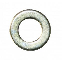 Lot de 4 rondelles acier zingué, H.2 x L.25 x P.25 mm de marque AFBAT, référence: B6310300
