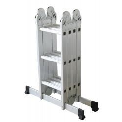 Echelle articulée + plate-forme acier 4x3 barreaux de marque CENTAURE , référence: B6313400