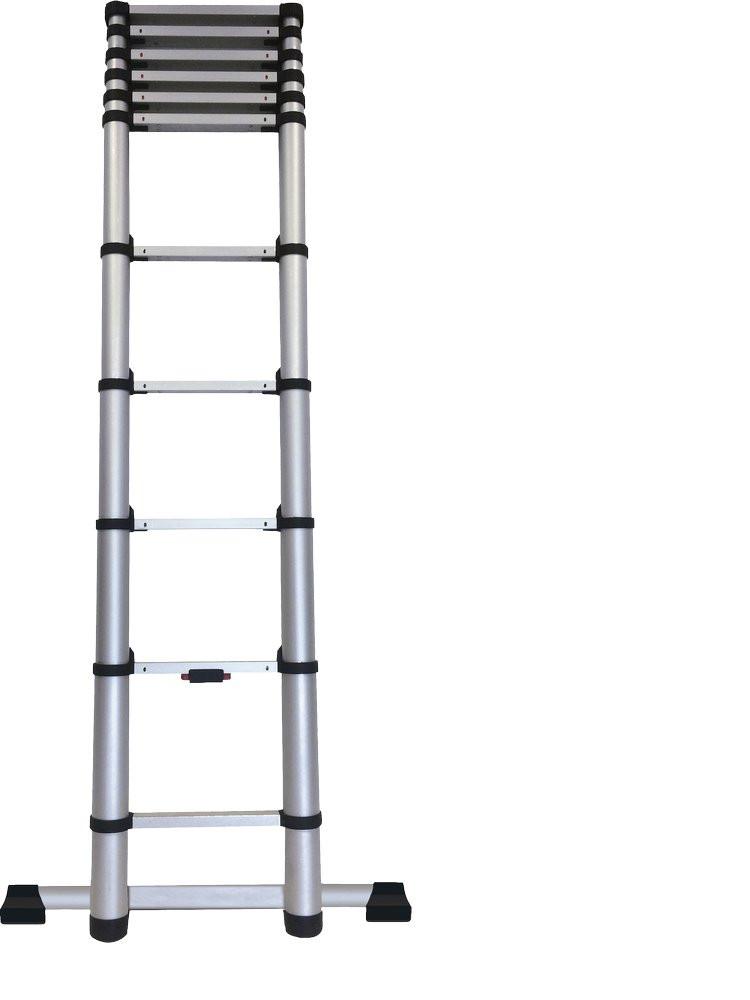 Echelle télescopique KOMPACT 11 barreaux - hauteur de travail 3,20m