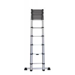 Echelle télescopique KOMPACT 13 barreaux - hauteur de travail 3,80m de marque CENTAURE , référence: B6314000