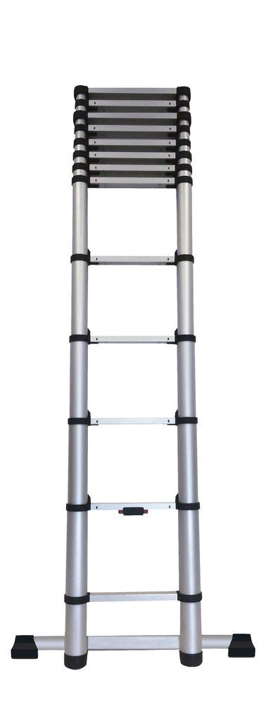 Echelle télescopique KOMPACT 13 barreaux - hauteur de travail 3,80m