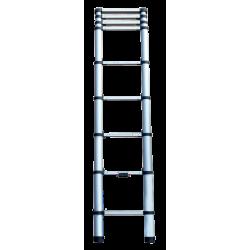 Echelle télescopique KOMPACT 9 barreaux - hauteur de travail 2,65m de marque CENTAURE , référence: B6314100