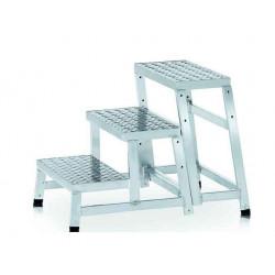 Marchepied industriel modulaire MODULO STEP 3 marches - hauteur de travail 2,60m de marque CENTAURE , référence: B6316400