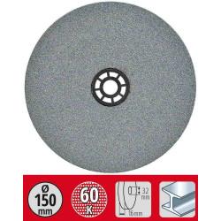 Meule grain fin diamètre 150x12,7x16mm G60 de marque KWB, référence: B6329800