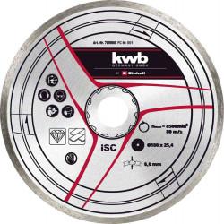 Disque diamanté 180x25,4 mm de marque KWB, référence: B6332600