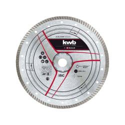 Disque Turbo diamanté 300x25,4 mm de marque KWB, référence: B6332800
