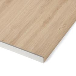 Profil de finition aluminium L.67 x l.2.8 cm de marque Centrale Brico, référence: B6357100