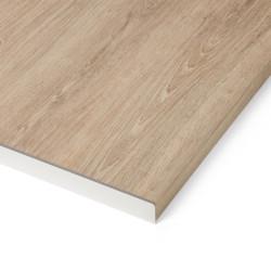 Profil de finition aluminium L.67 x l.3.8 cm de marque Centrale Brico, référence: B6357200