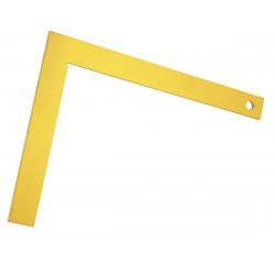 Equerre de maçon NESPOLI, 80 cm de marque Centrale Brico, référence: B6358700
