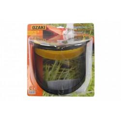 Visière grillagée relevable OZAKI PREMIUM. Hauteur de visière: 190mm EN1731 F de marque Centrale Brico, référence: B6360100