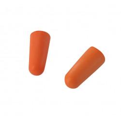 Lot de 10 paires de Bouchons anti-bruit en mousse polyuréthane. (sous coque) de marque Centrale Brico, référence: B6360300