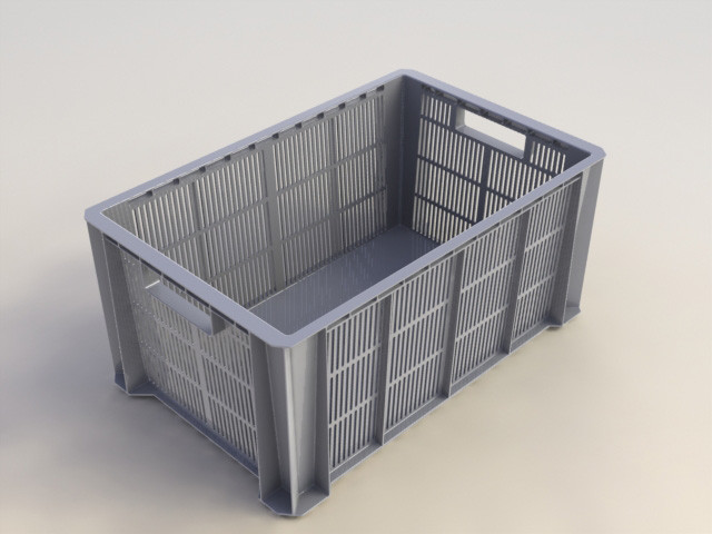 bac de manutention IRIS plastique l.35 x P.55 x H.24.5 cm cm