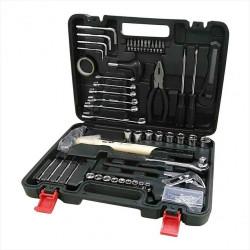 Kit d'outils de mécanicien 141 pièces de marque Centrale Brico, référence: B6362000