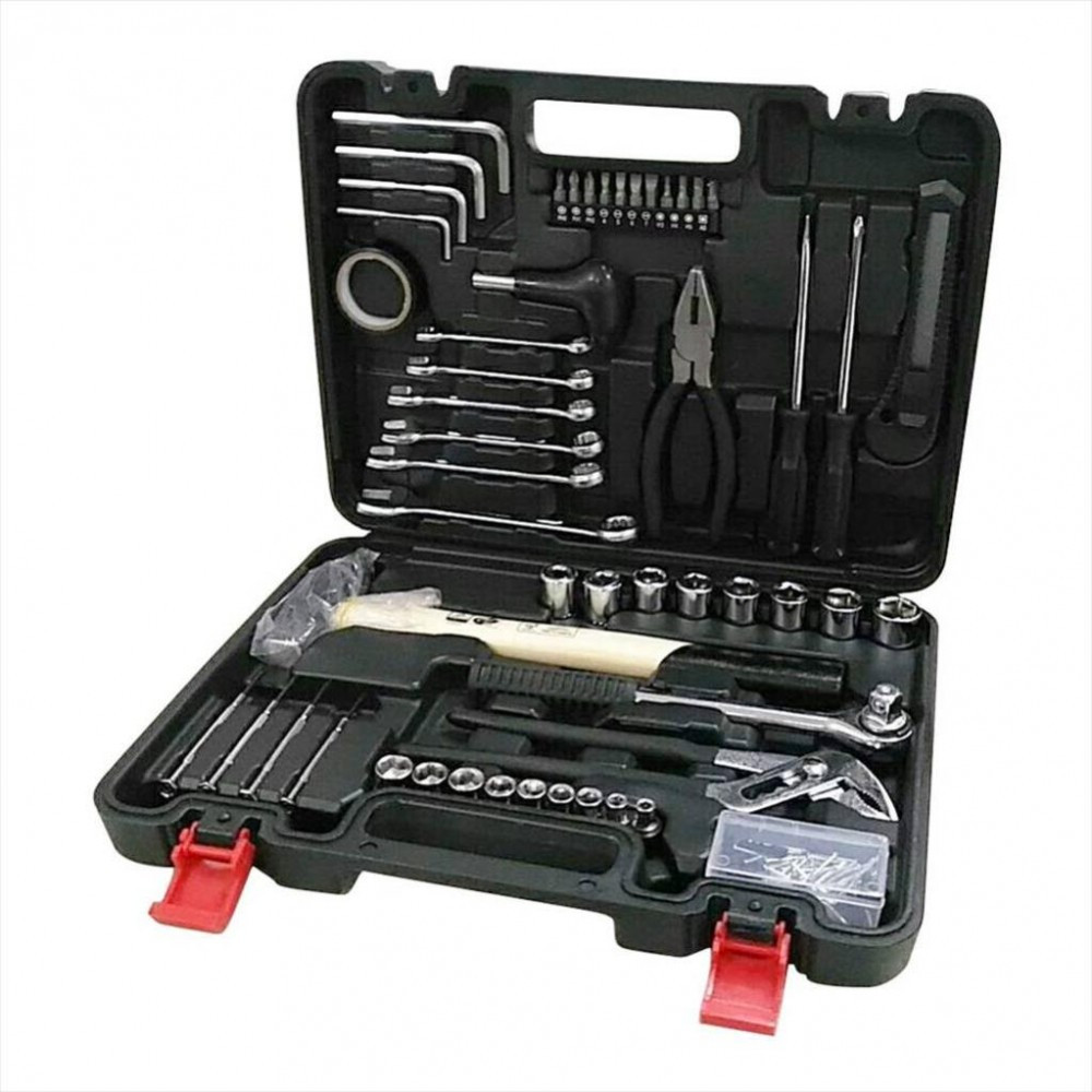 Kit d'outils de mécanicien 141 pièces