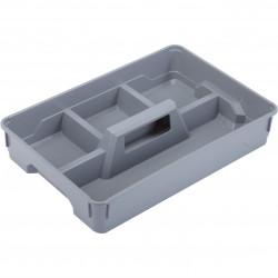 porte-outils KIS plastique gris l.34 x P.26 x H.6.5 cm cm de marque Centrale Brico, référence: B6362100