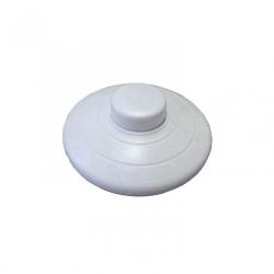 Interrupteur à pied TIBELEC, plastique, blanc de marque Centrale Brico, référence: B6364500
