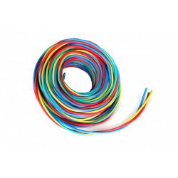 Fil électrique 2.5 mm² h07vu L.10 m, rouge / vert - jaune / bleu de marque Centrale Brico, référence: B6373100
