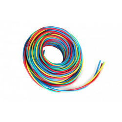 Fil électrique 2.5 mm² h07vu L.25 m, rouge / bleu / vert - jaune de marque Centrale Brico, référence: B6373400