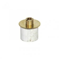 Extensible diamètre 19-21mm TIBELEC, laiton, blanc de marque Centrale Brico, référence: B6379600