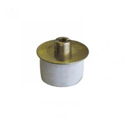 Extensible diamètre 25-28mm TIBELEC, laiton, blanc de marque Centrale Brico, référence: B6379700