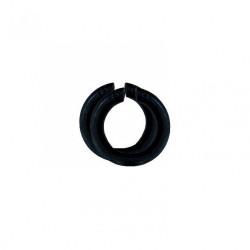 Lot de 2 bagues abat-jour B22 / E14 TIBELEC, plastique, noir de marque Centrale Brico, référence: B6380000