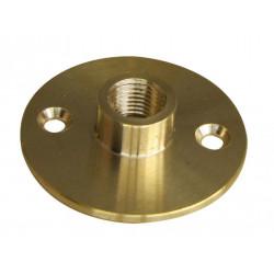 Raccord à plaque femelle laiton diam40mm, TIBELEC de marque Centrale Brico, référence: B6381500