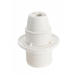 Douille électrique e14 à vis thermoplastique blanc de marque Centrale Brico, référence: B6385100
