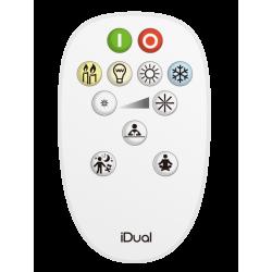 Télécommande variation de blancs  Idual whites de marque Centrale Brico, référence: B6394100