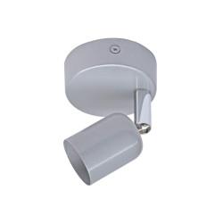 Spot patère, fer gris Basic de marque Centrale Brico, référence: B6397300