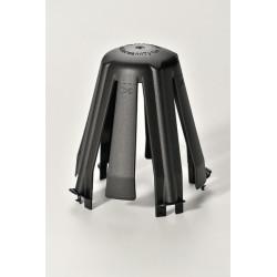 Lot de 3 cloches de protection pour spot à encastrer Spotclip II fixe noir de marque Centrale Brico, référence: B6397700
