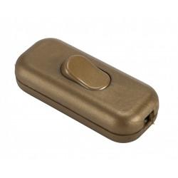 Interrupteur interrupteur or, 2 A, 500 W maxi de marque Centrale Brico, référence: B6400100