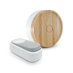 Sonnette sans fil sans pile AVIDSEN bambou de marque Centrale Brico, référence: B6402600