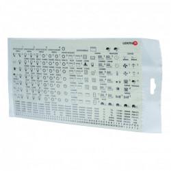 Sticker pour tableau électrique de marque Centrale Brico, référence: B6402800
